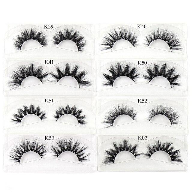AMAOLASH Eyelashes Mink Eyelashes Thick Natural Long False Eyelashes 3D Mink Lashes High Volume Soft Dramatic Eye Lashes Makeup 5