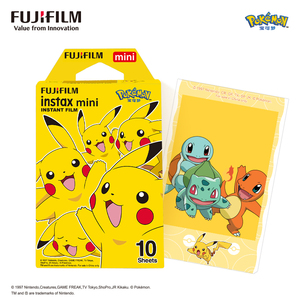Image 1 - 10 매 Fujifilm Pokemon 후지 Instax Mini 11 7s 8 9 25 50s 70 90 & SP 1 프린터 용 인스턴트 필름