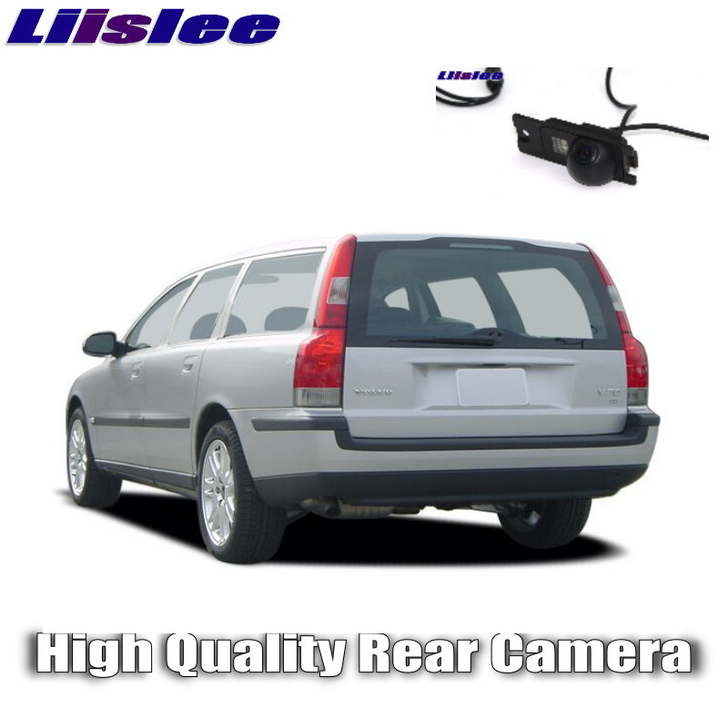 LiisLee Car HD Reversing Image Camera Rear  Camera For VOLVO V70 XC V 70 R XC70 1996~2016 Night Vision WaterProof Dedicated CAM