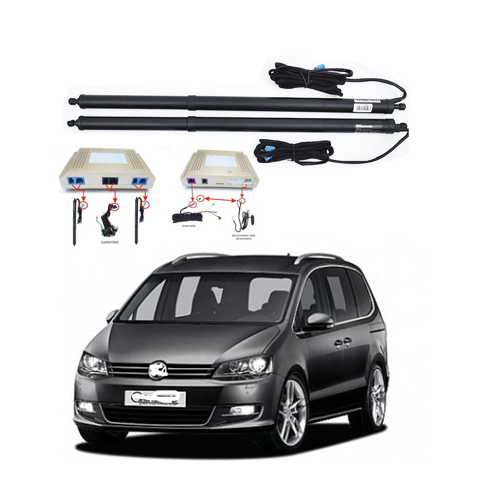 New Electric Tailgate Refitted For VW SHARAN 2017 - Tail Box Intelligent Electric Tail Door Power Tailgate Lift Lock