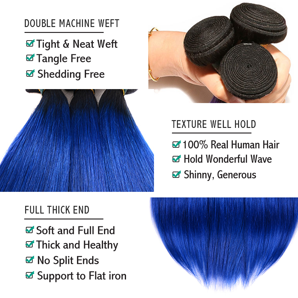 sexay ombre human hair bundles with closure brazilian hair weave bundles with closure 3 bundles with closure (24)