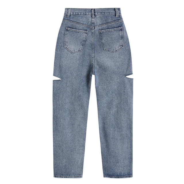 Baggy Jeans with side cuts
