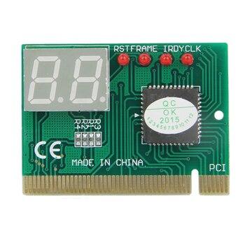 2 - bit PCI motherboard fault test card desktop computer detection card PCI motherboard tester diagnostic display mbx 269 laptop motherboard with independent vaga card motherboard full test laptop case