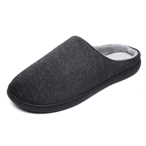 Image 4 - Mens Home Slippers Winter Warm Shoes With Fur Flat Casual Shoe Men Footwear Non slip Slipper Comfort Zapato Hombre Plus Size 47