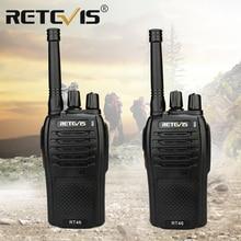 Рация RETEVIS RT46 PMR, радиоприемник FRS VOX, ручная двухсторонняя радиостанция с usb зарядкой и двойным питанием (перезаряжаемый аккумулятор или АА)
