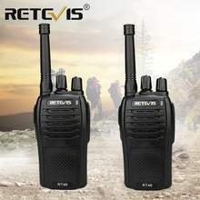 RETEVIS RT46 PMR Walkie Talkie Radio FRS VOX Handy Two way Radio Station USB Charging Dual Power (Rechargable battery or AA)