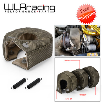 100% Full TITANIUM T3 turbo blanket heat shield fit For t2 t25 t28 gt28 gt30 gt35 and most t3