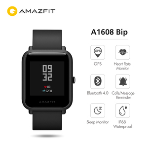 Image 3 - הגלובלי גרסה Huami Amazfit ביפ חכם שעון קצב לב צג GPS Gloness Smartwatch 45 ימים המתנה עבור טלפון MI8 IOS