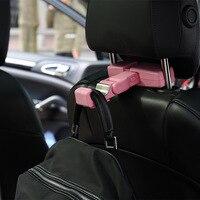 Kitty Multi functional Car Mounted Cute Car Hook Creative Mobile Phone Bracket Back Seat Chair Storage Hook Car