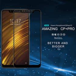 NILLKIN pełne pokrycie CP + PRO 9H szkło hartowane Screen Protector krawędzi łuku dla Xiao mi Pocophone F1/ poco F1 mi mi X 3 Max 3 telefony