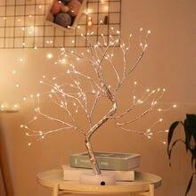 Светодиодный Рождественский ночник для дома украшение спальни