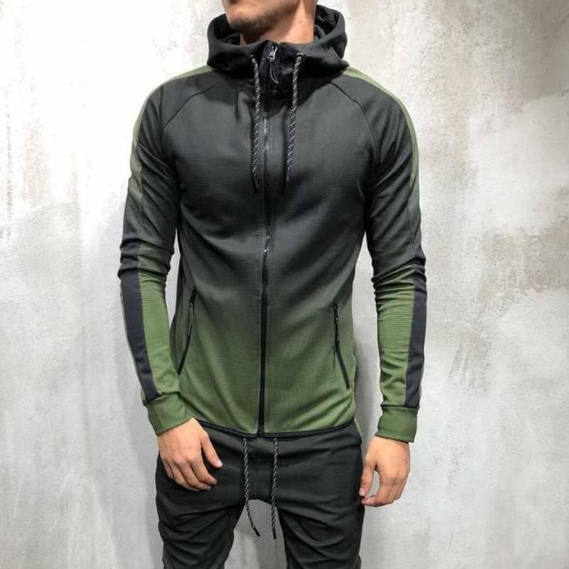 2020 Mens Hoodies 3D Gradiënt Toevallige Hooded Sweater Mannen Streetwear Hoodie Hip Hop Trainingspak Nieuwe Mode Top Herfst Sportkleding