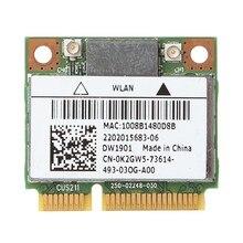 Для DELL DW1901 AR5B22 Wireless Dual Band 802,11 a/b/g/n Half Mini PCI-E Wi-Fi Bluetooth 4,0 Combo