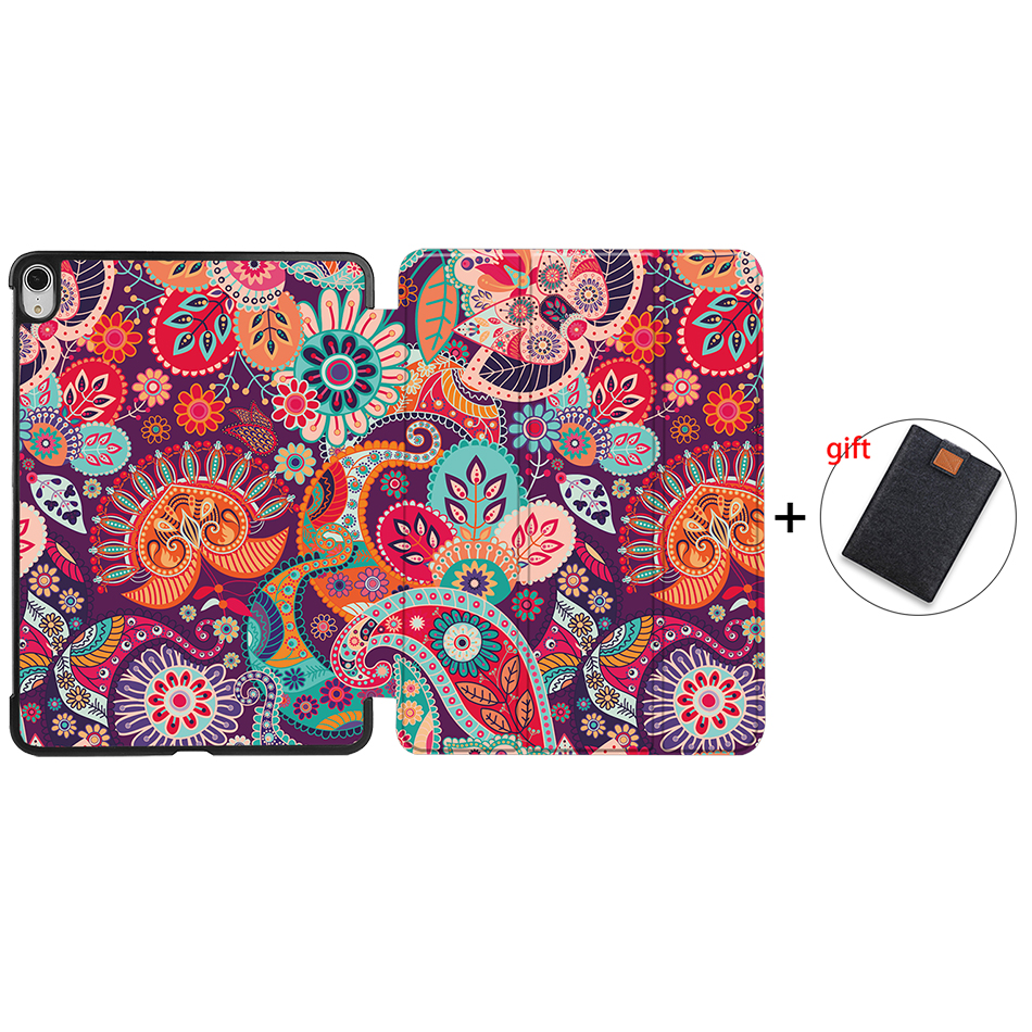IP12 Gold MTT Tablet Case For iPad Air 4th Generation 10 9 inch 2020 PU Leather Folio Flip