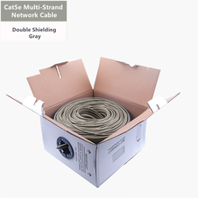 Cat5e Ethernet Cable SFTP Double Shielded Multi-Strand Network Wire RJ45 Network Patch Cord Router Switch 26AWG Internet Cat 5e