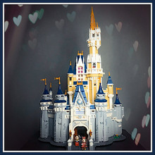 лучшая цена 71040 Cinderella Princess Castle Model Building Blocks Bricks Kids Girl Boys DIY Birthday Gifts Funny Toy 30010