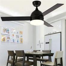 Потолочный светильник sarok с вентилятором современная светодиодная