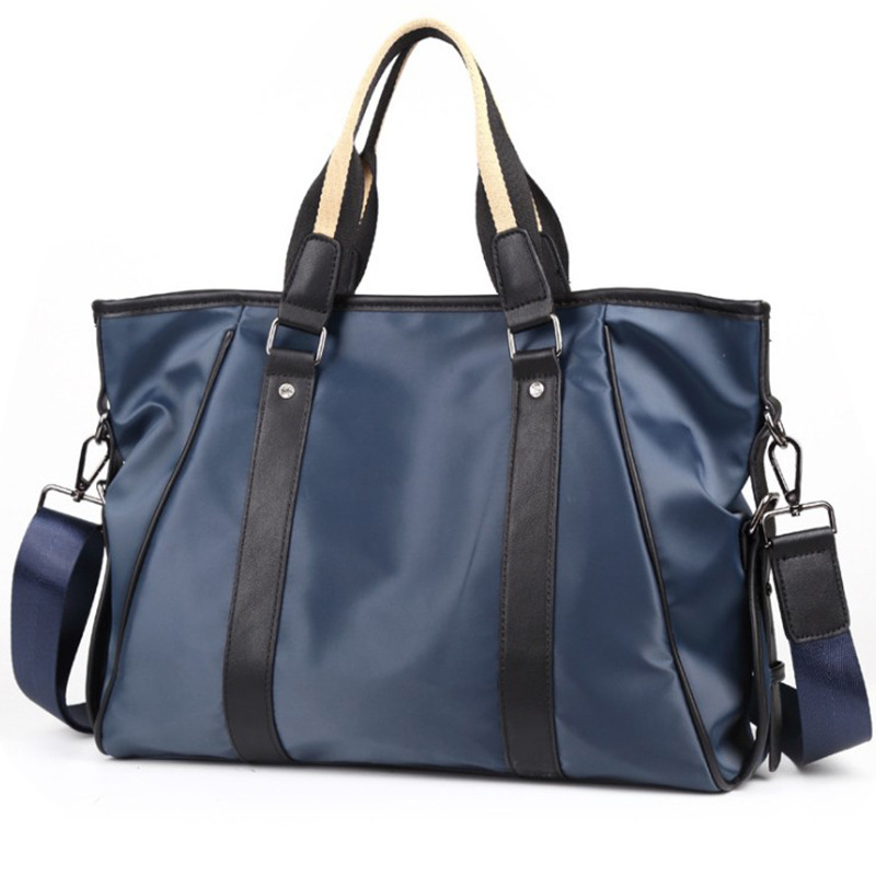 Canvas Briefcase Men Shoulder Bags Vintage Messenger Crossbody Bags For Men Satchel Big Capacity Casual Tote Bag Men Handbag