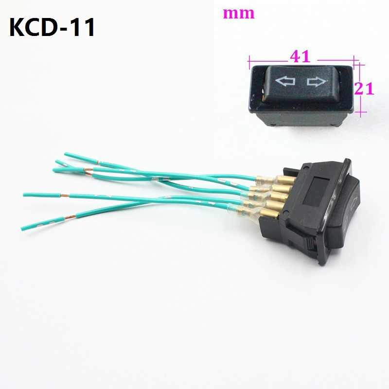 Car Electric Power Window Lifter Controller Control Switch Button Power Window Lifter 5 pins 20A Switches 12cm sockets