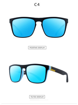 2021 Polarized Sunglasses Men's Driving Shades Male Sun Glasses For Men Retro Cheap Luxury Women Brand Designer UV400 Gafas - C4