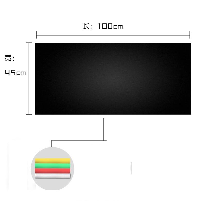 45*100cm Blackboard Sticker Student Children Home Use Waterproof Wall Sticker