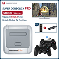Супер консоль X Pro Mini/TV видео игровые консоли WIFI HD выход для PSP/N64/DC/PS1 Игры для Xbox геймпад встроенные 50000 + игр