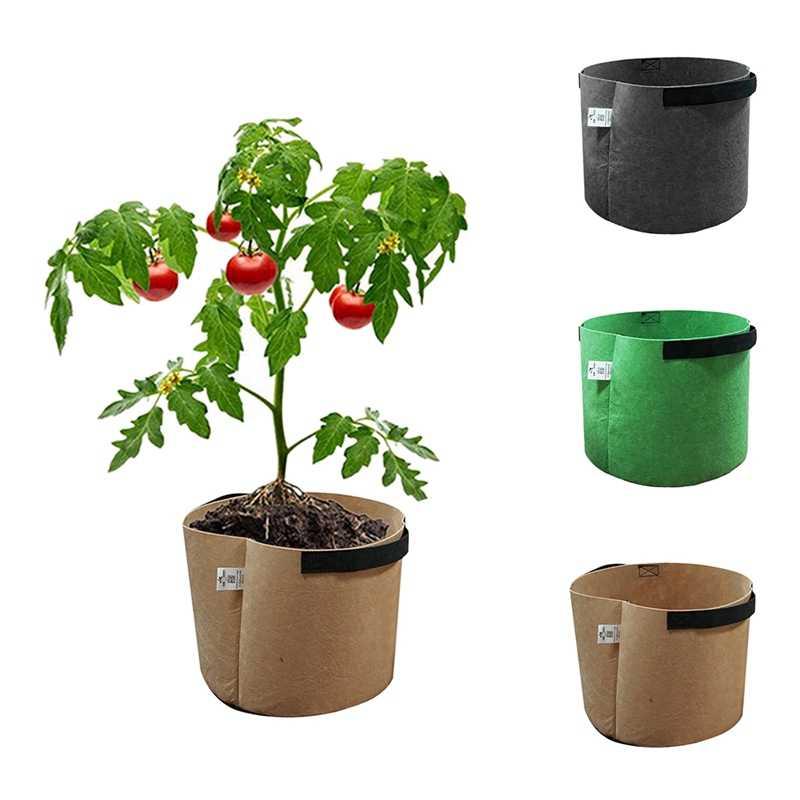 Tomato pots felt