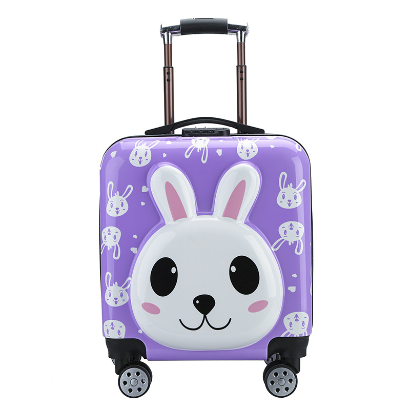 """Kids Cabin Suitcase for  boys girls children wheel Trolley Rolling Luggage Portable Travel Luggage suitcase18"""" inch Rolling Box"""