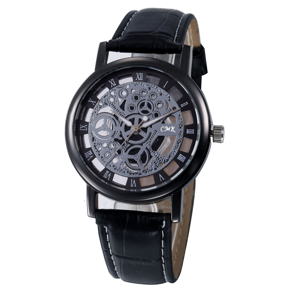 C M K Beautiful Fashion Simple Watch Ladies Leather Belt Watch For Gift Female  Gifts For Women Woman Watch Casua Clock