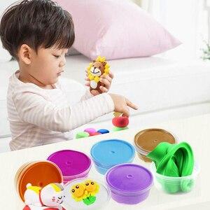 Набор коробок из пластилина, детская Волшебная цветная глина для моделирования, игрушки для детей на день рождения, 36 цветов