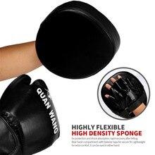 2020 Boxing Gloves Pads Hand Target Pad Muay Thai Kick Focus Punch Pad Karate Taekwondo Mitt MMA Foam Boxer Training Kickboxing