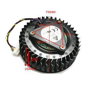 BFB1012SHA01 C8T pour AMD 64 DC12V 2.40A 4 lignes GPU pour XFX RX VEGA 56 R9 390X graphique ventilateur de refroidissement vidéo ventilateur HZDO