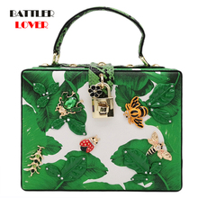 Luxury Bags for Women 2020 Green Banana Leaf Women Fashion S