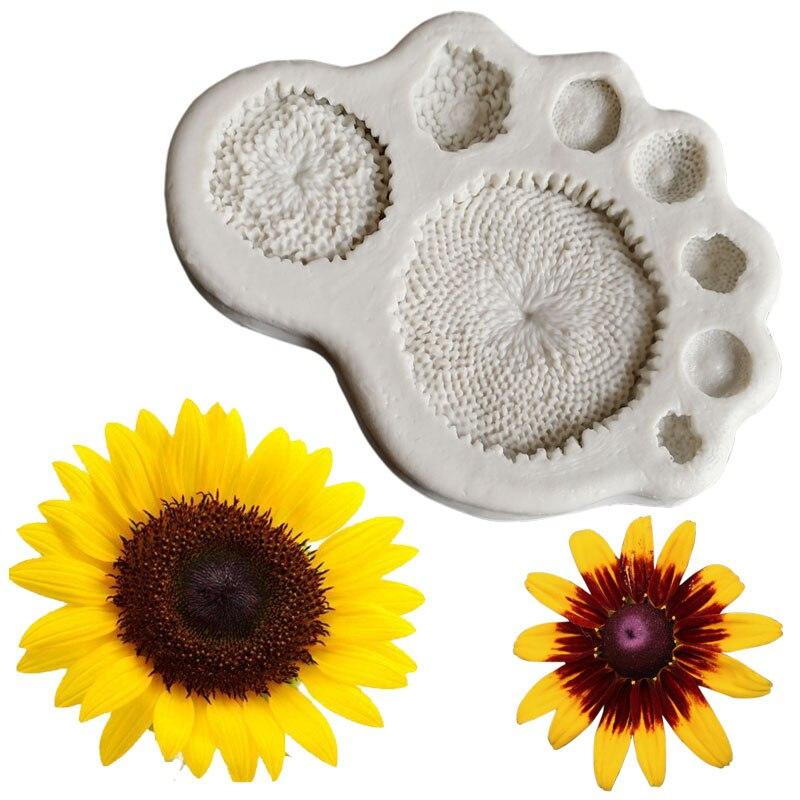 Nuevo Conjunto De 3 De Hadas De Flores Hadas Molde Molde Sugarcraft Fimo Arcilla Polimérica