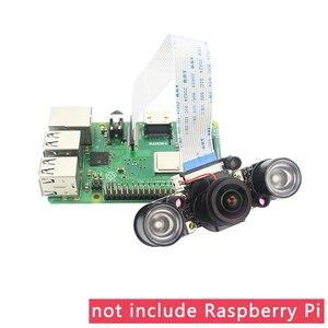 Image 3 - Raspberry Pi 4 IR CUT Camera Night Vision Focal Adjustable 5MP Fish Eye Auto Switch Day Night for Raspberry Pi 3 Mode B+/4B