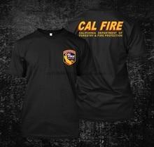 Cal Fire California męska koszulka z krótkim rękawem
