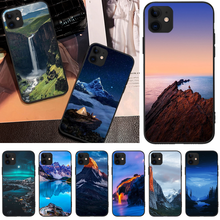 OFFeier Canyon View Cover Black Soft Shell Phone Case For iPhone 5C 6 6S 7 8 plus X XS XR XS MAX 11 11 pro 11 Pro Max offeier canyon view cover black soft shell phone case for iphone 5c 6 6s 7 8 plus x xs xr xs max 11 11 pro 11 pro max