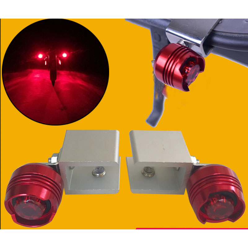 Red Warning Rear Deck Flashlight For Xiaomi Mijia M365 Electric Night Cycling Safety Decorative Light Scooter Parts