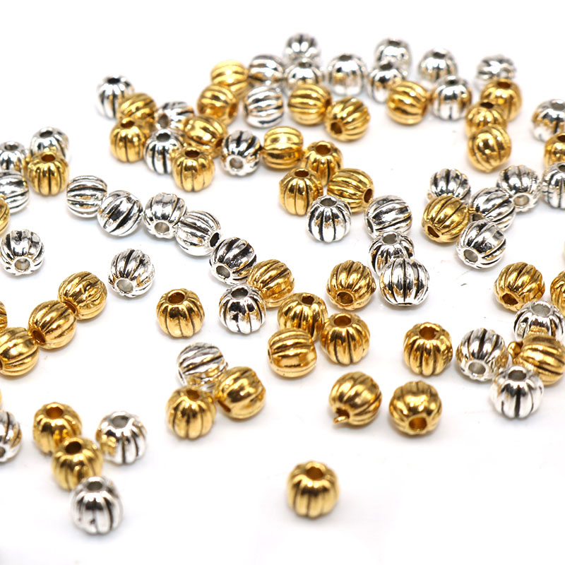 Kissitty 600pcs Antique Golden Flower Bead Caps Bail Style Metal End Caps 10x10mm for Bracelet Necklace Jewelry Making