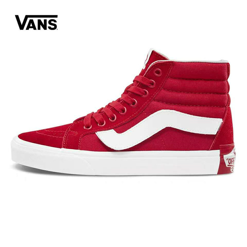 Original Purlicue X Vans Skateboarding Shoes,New Arrival High-Top VANS Off The Wall Women's Sports Shoes Sneakers Size Eur 36-39