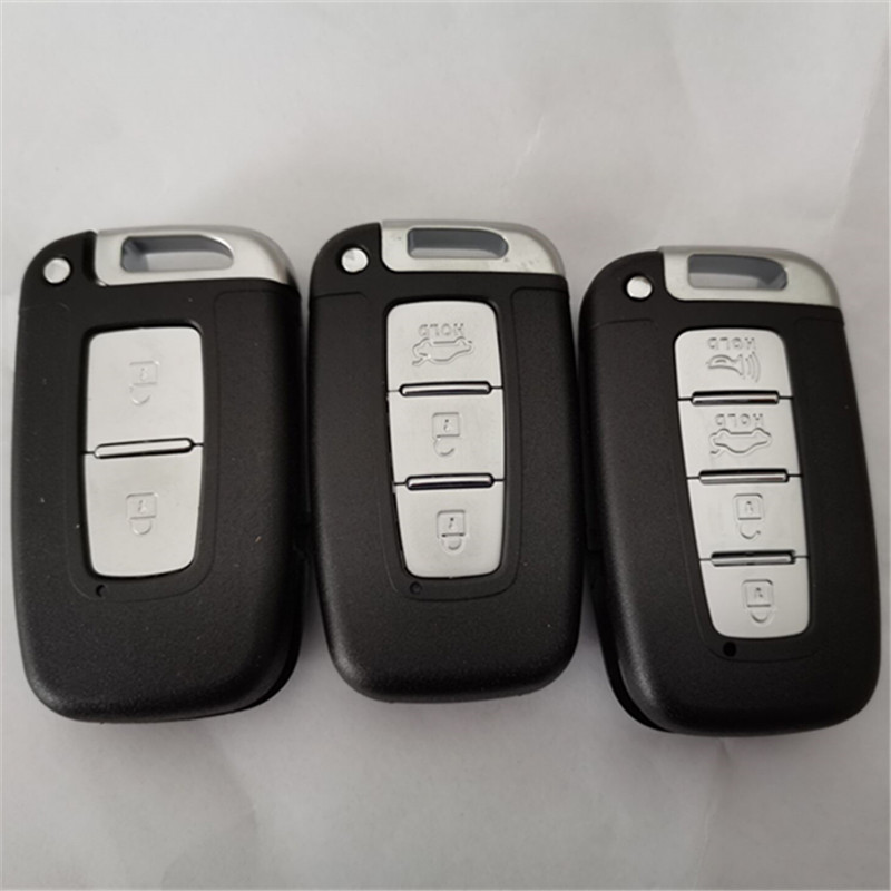 DAKATU 2 3 4 ปุ่ม REMOTE Key SHELL สำหรับ Kia K5 K2 Forte Sportage สำหรับ Hyundai IX35 Sonata 8 เปลี่ยนรถสมาร์ท FOB