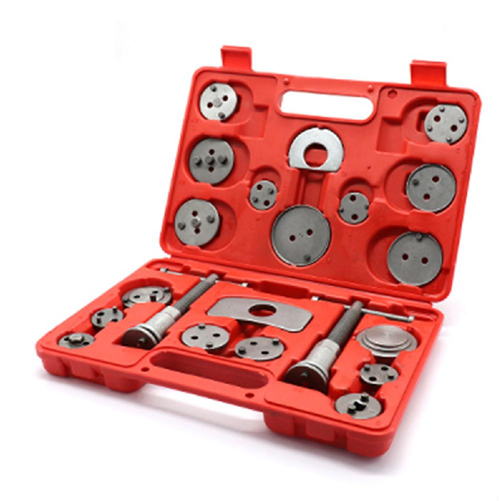 HobbyLane 21 pièces voiture universel frein à disque étrier rembobinage arrière outil plaquettes de frein remplacement Automobile réparation outil Kit