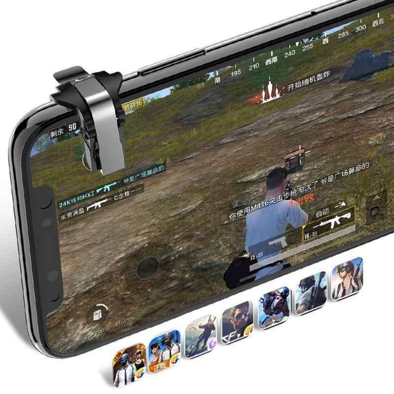 Joystick Gamepad para PUBG tirador controlador gatillo fuego botón clave L1R1 tirador controlador para PUBG teléfono móvil Game Pad