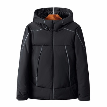 Men Fashion Down Jacket Winter Down Coat Parka 80% White Duck Down Thicken warmCasual Hooded Down jackets coat