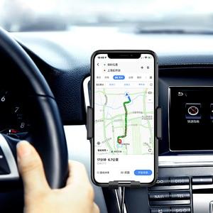 Image 4 - Automática Do Carro Montar Carregador Sem Fio Qi para Samsung Galaxy Nota 10 Plus 10 + 5G Móvel Acessórios de Carregamento Rápido suporte do Telefone do carro