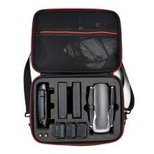 Bolsa de armazenamento bolsa de transporte para mavic ar drone controlador 3 baterias acessórios
