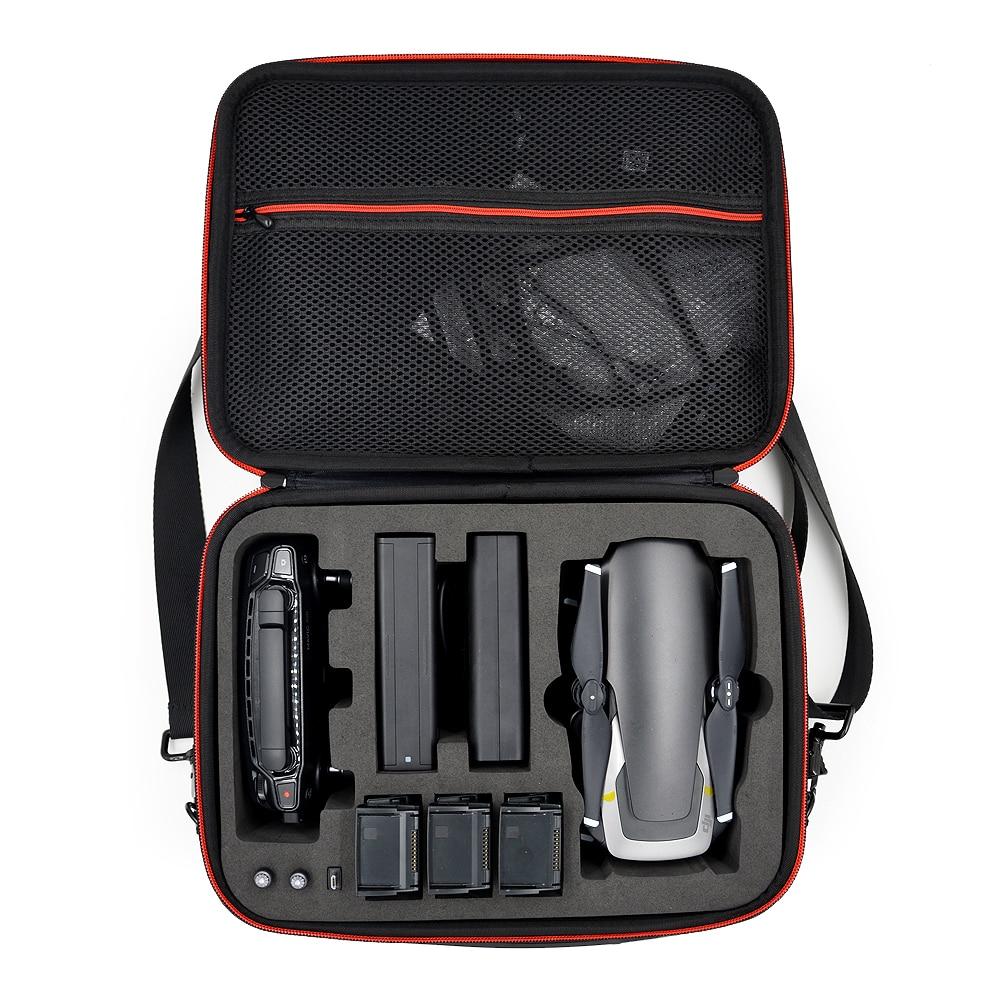 Waterproof PU Handbag Storage Bag Carrying Case For MAVIC Air Drone Controller 3 Batteries Accessories
