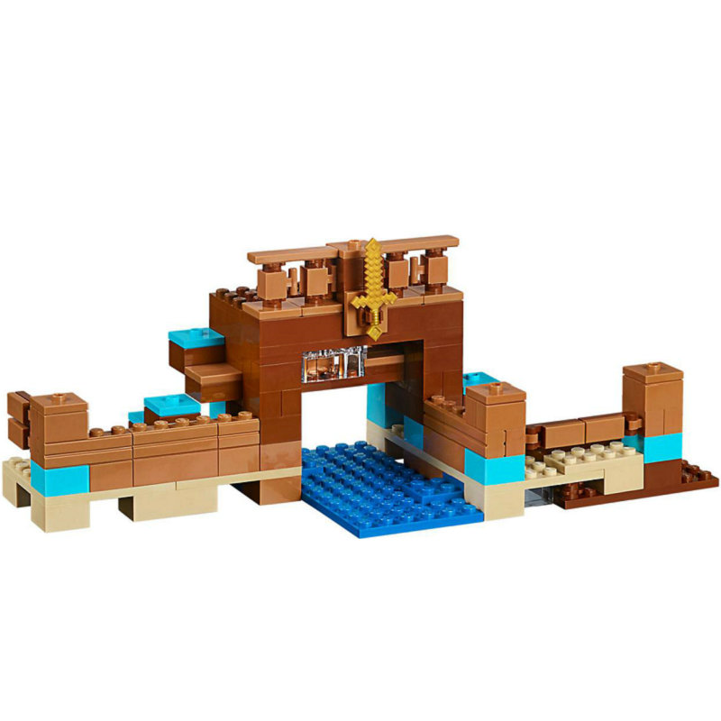 The Crafting Box 2.0 Building Block With Steve Action Figures Compatible LegoINGlys MinecraftINGlys Sets Toys For Children 21135 4
