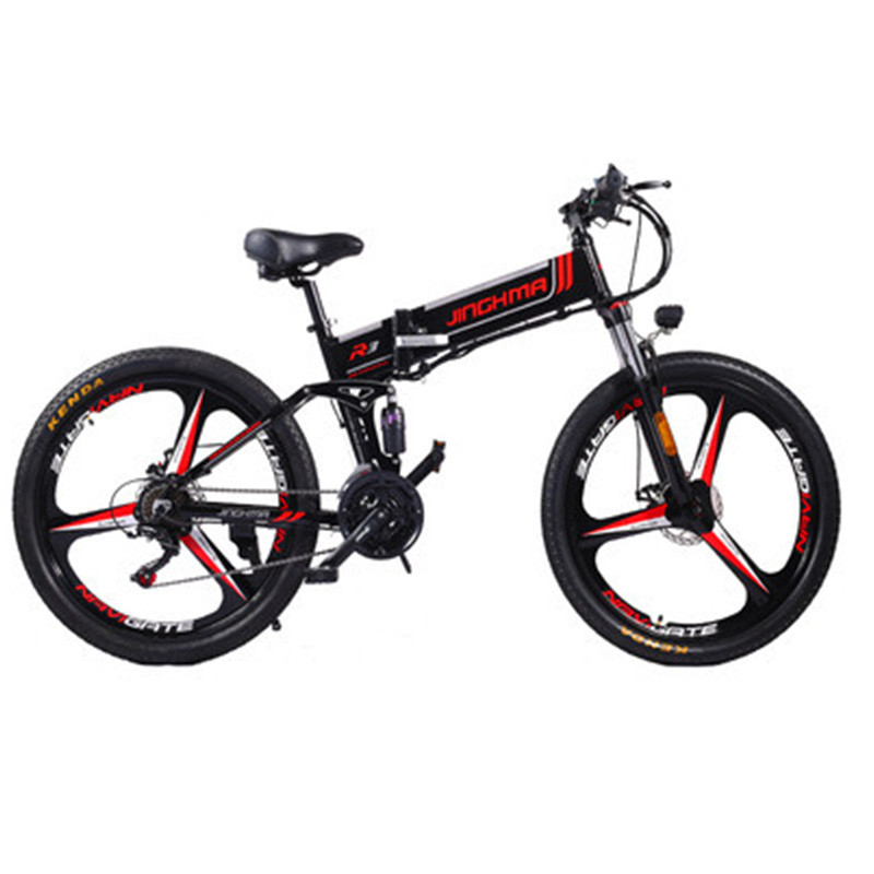26 Inch Electric Mountain Bike Two Wheels Electric Bicycles With LG battery 500W 48V Powerful Electric Bicycle Bicycle For Adult