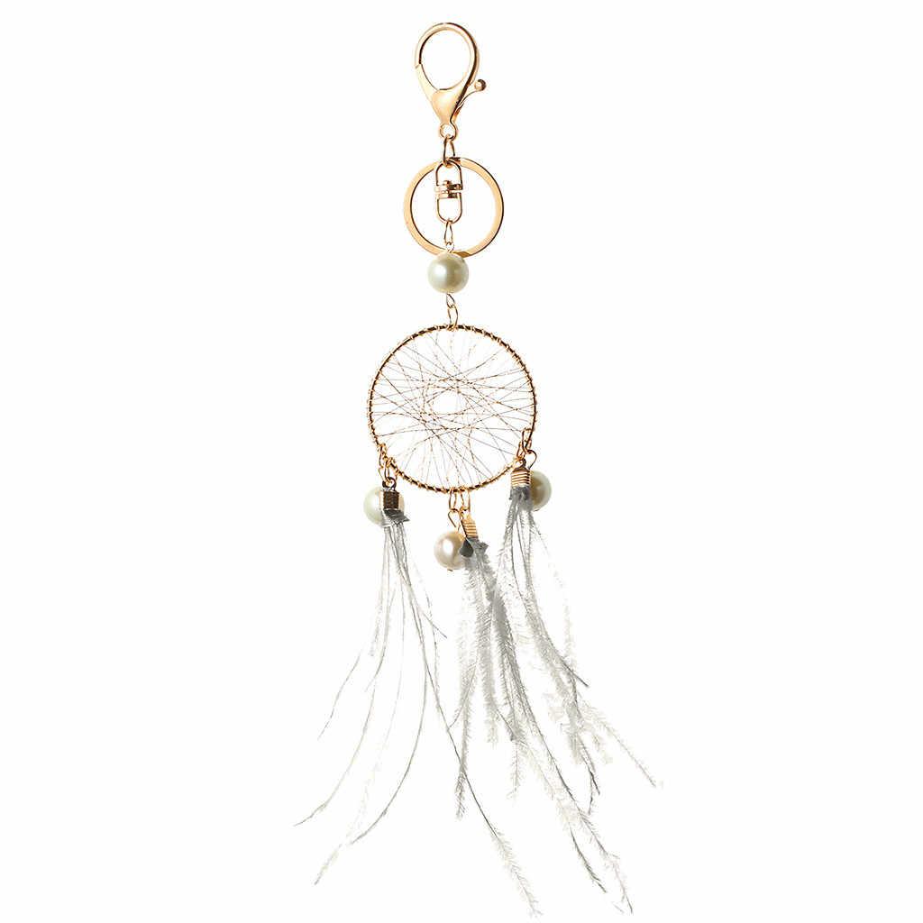 Sapin Noel Metal Wind Domain sapin noel Alloy Small Fresh Metal Keychain Dream